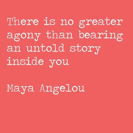 <b>Maya</b> <b>Angelou</b> <b>Quote</b> about writing | Tyto Books